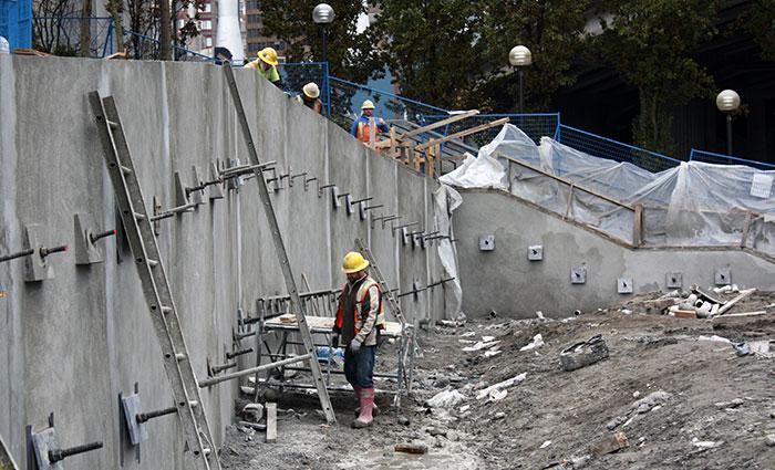 Wall Construction Services : Shotcrete services vancouver bc canada